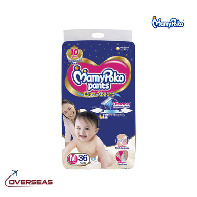 Mamypoko Diaper Pants Extra Absorb 7-12 Kg, Size M - 36pcs