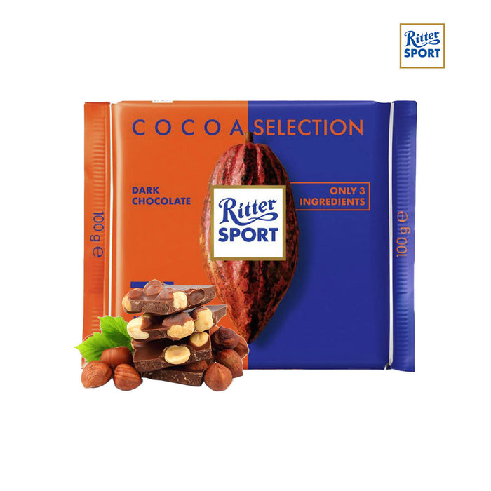 Ritter Sport Cocoa Selection 74% Intense From Peru, 100g