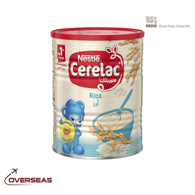 Nestle Cerelac Infant Cereal Baby Food Rice, - 400g