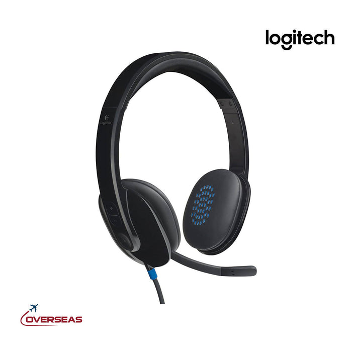 Logitech Wired NC Headphone With Mic - H540