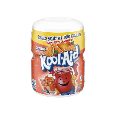 Kool-Aid Orange Flavored Powdered Drink Mix, 538g