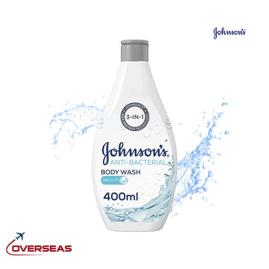 Johnson's Body Wash Anti Bacterial Sea Salts - 400ml