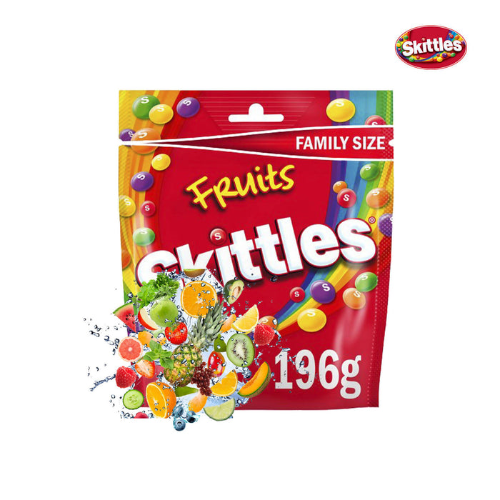 Skittles Fruits Pouch, 196g