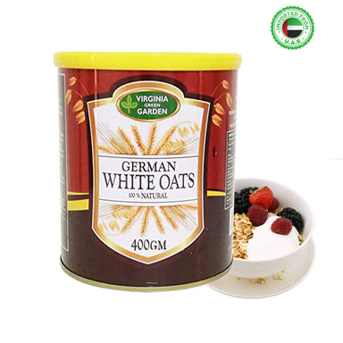 Virginia Green Garden German White Oats, 400g