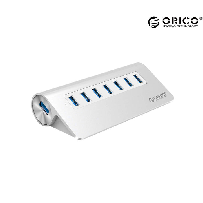 ORICO Aluminum Alloy 7 Ports USB3.0 HUB With 30W Power Adapter