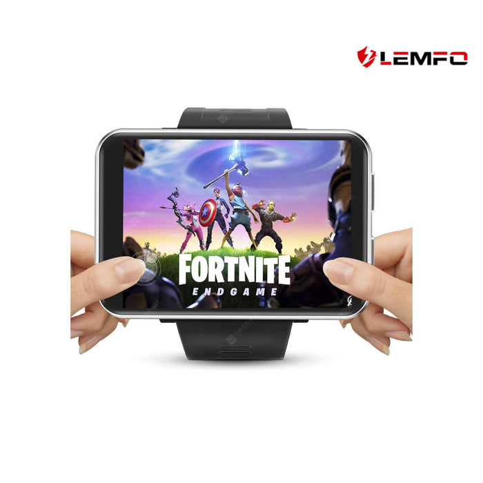 LEMFO LEM T 4G Smartwatch Phone With 2.86 Inch Screen & 2700mAh Battery