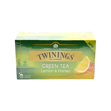Twinings Green Tea Lemon and Honey 25pcs