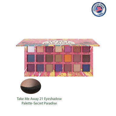 J.Cat Beauty Take Me Away 21 Eyeshadow Palette - Secret Paradise