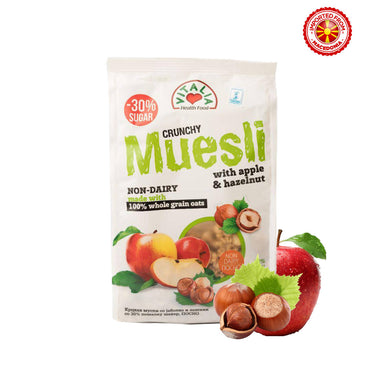 Vitalia Crunchy Muesli With Hazelnut & Apple 320g