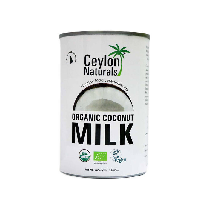 Ceylon Organic Coconut Milk, 400ml