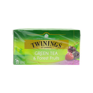 Twinings Green Tea & Forest Fruits 25pcs