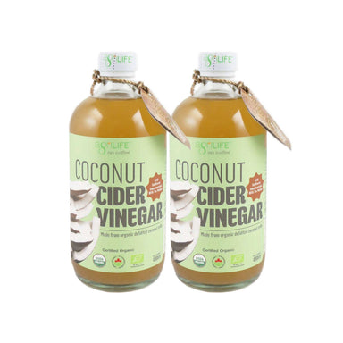 Agrilife Organic Coconut Cider Vinegar, 480 ml Pack Of 2