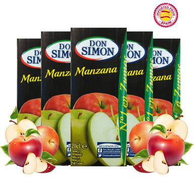 Don Simon Apple (Manzana) Juice 20cl, Pack of 5