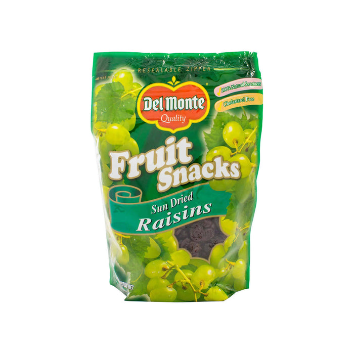 Del Monte Fruit Snacks Sun Dried Raisins - 340g