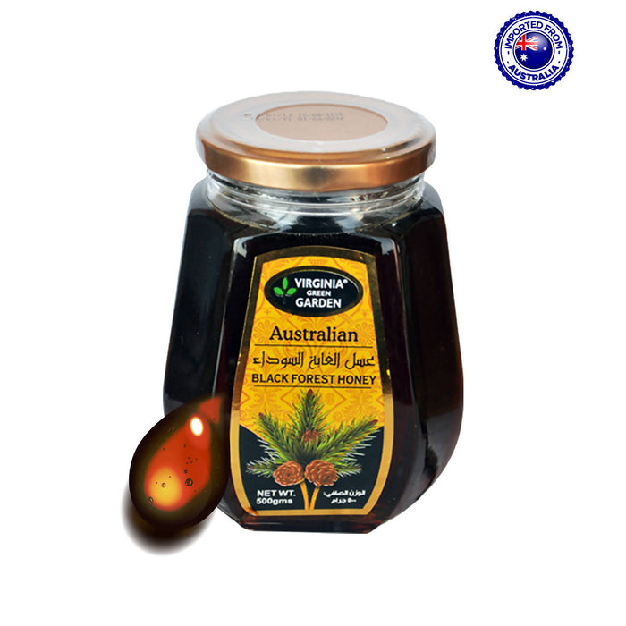 Virginia Green Garden Australian Honey Black Forest, 500g
