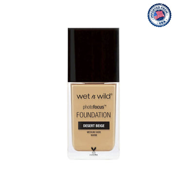 Wet N Wild Photo Focus Matte Foundation - Desert Beige
