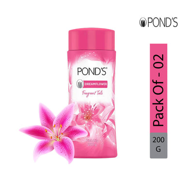 POND'S Dreamflower Talc Powder, 200g - Pack of 2