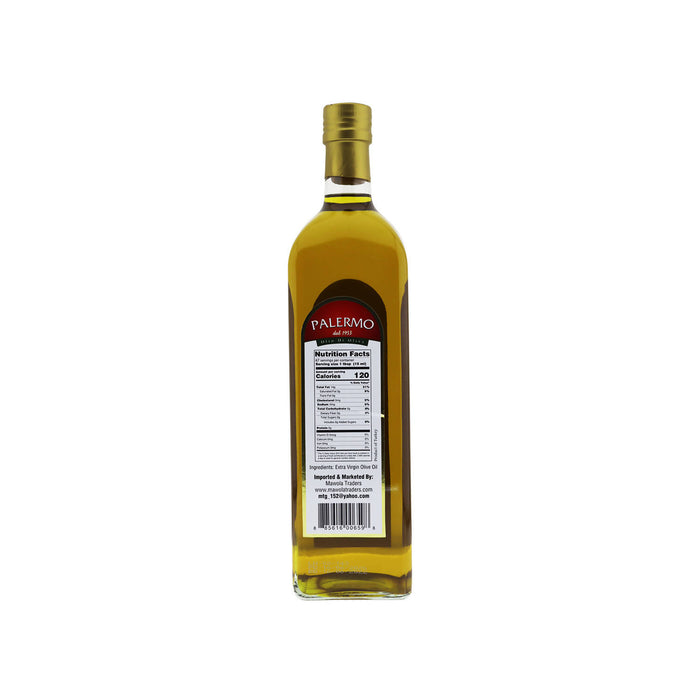 Palermo First Cold Pressed Extra Virgin Olive Oil, 1 LTR
