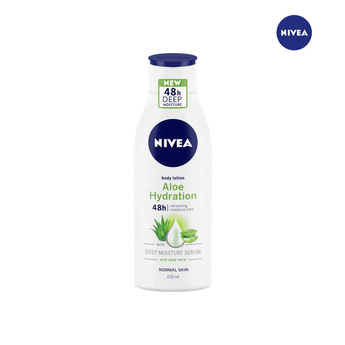 Nivea Aloe Hydration Body Lotion with Deep Moisture Serum- 200ml