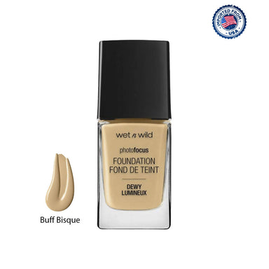 Wet N Wild Photo Focus Dewy Foundation - Buff Bisque