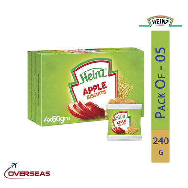 Heinz Baby Apple Biscuits, 240g - Pack Of 5
