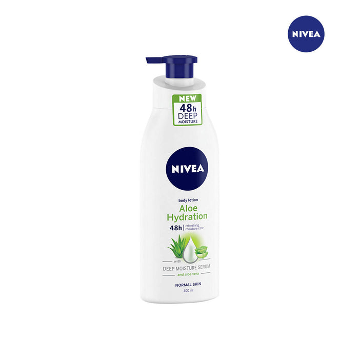 Nivea Aloe Hydration Body Lotion with Deep Moisture Serum- 400ml