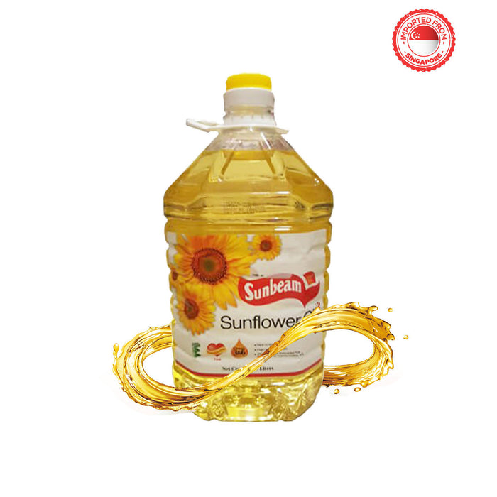Sunbeam Sunflower Oil, 5 Ltr
