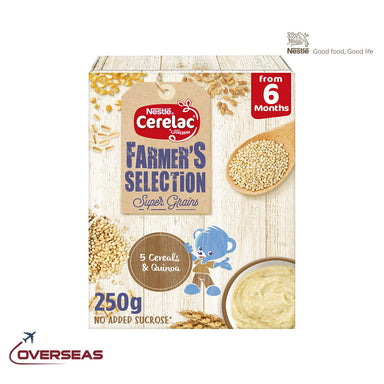 Nestle Cerelac Farmer's Selection 5 Cereals and Quinoa Infant Cereal - 250g