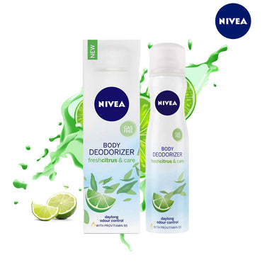 Nivea Body Deodorizer Freshcitrus & Care - 120ml