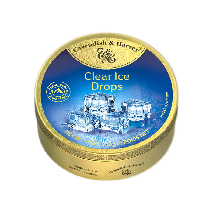 Cavendish & Harvey Clear Ice Drops Candy, 200g