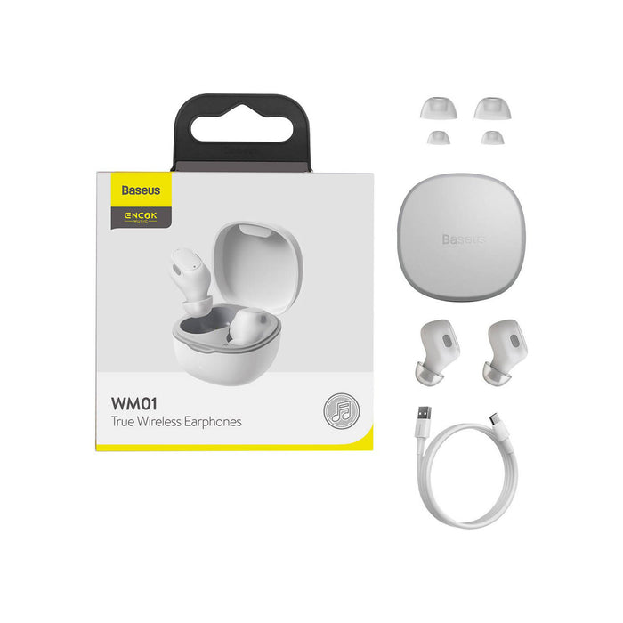 Baseus Encok True Wireless Earphones WM01 - NGWM01-02