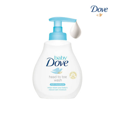 Dove Rich Moisture Head To Toe Wash Baby Lotion - 200ml