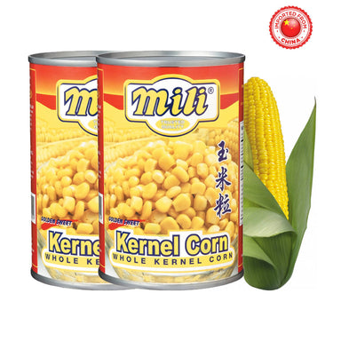 Mili Whole Kernel Corn 425g, Pack of 2