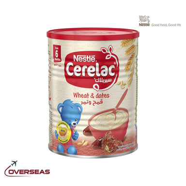 Nestle Cerelac Infant Cereal Wheat & Dates - 400g