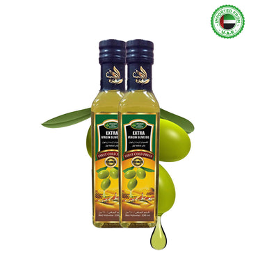 Virginia Green Garden Extra Virgin Olive Oil 250 ml, Pack of 2
