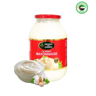 Virginia Green Garden Mayonnaise jar, 32oz