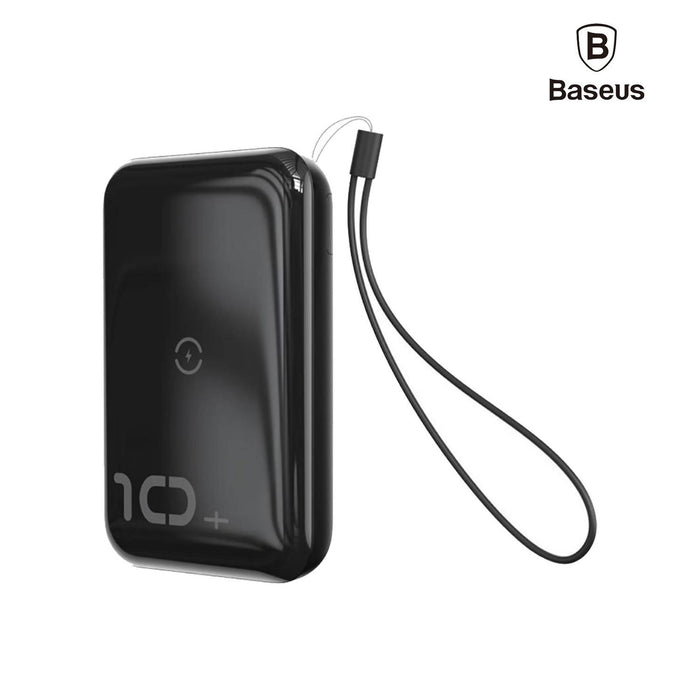 Baseus F10W Wireless Fast Charging Power Bank 10000mAh, PD Quick Charge 3.0