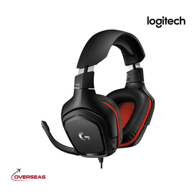 Logitech Wired Over-Ear Gaming Headset With Mic - G332