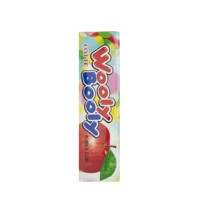 Lotte Gum Wooly Booly Gum Stick - 12.5gm, Pack of 10