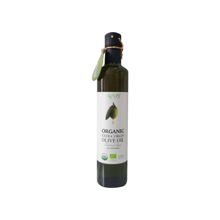 Agrilife New Organic extra virgin olive oil (100%) cold pressed, 500 ml