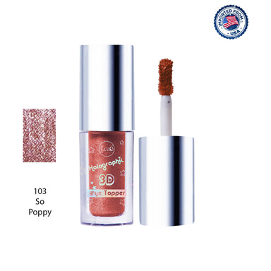 J.Cat Beauty Holographic 3D Eye Topper - So Poppy