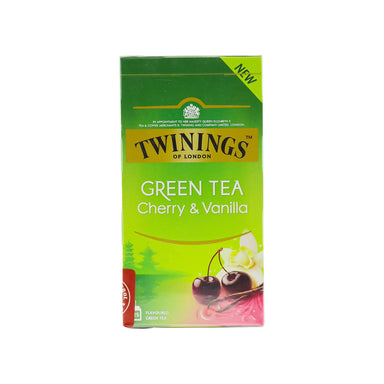 Twinings Tea Green Cherry & Vanilla 25pcs