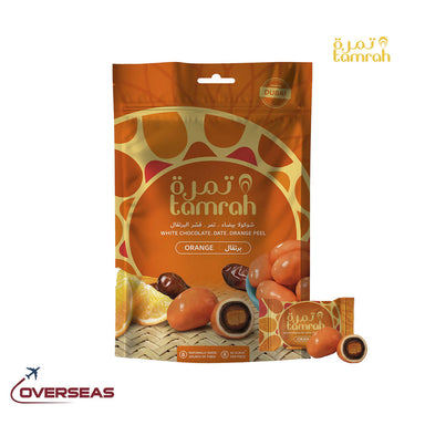 Tamrah Orange Chocolate Zipper Bag - 100g
