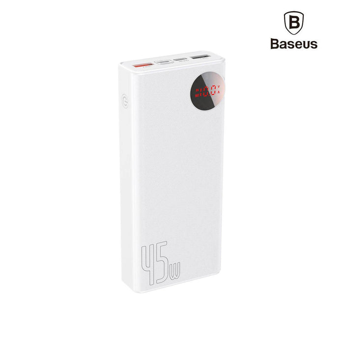 Baseus Mulight Digital Display Quick Charge Power Bank 45W 20000mAh - PPMY-A02