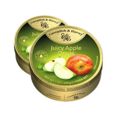 Cavendish & Harvey Apple Drops, 200g Pack Of 2