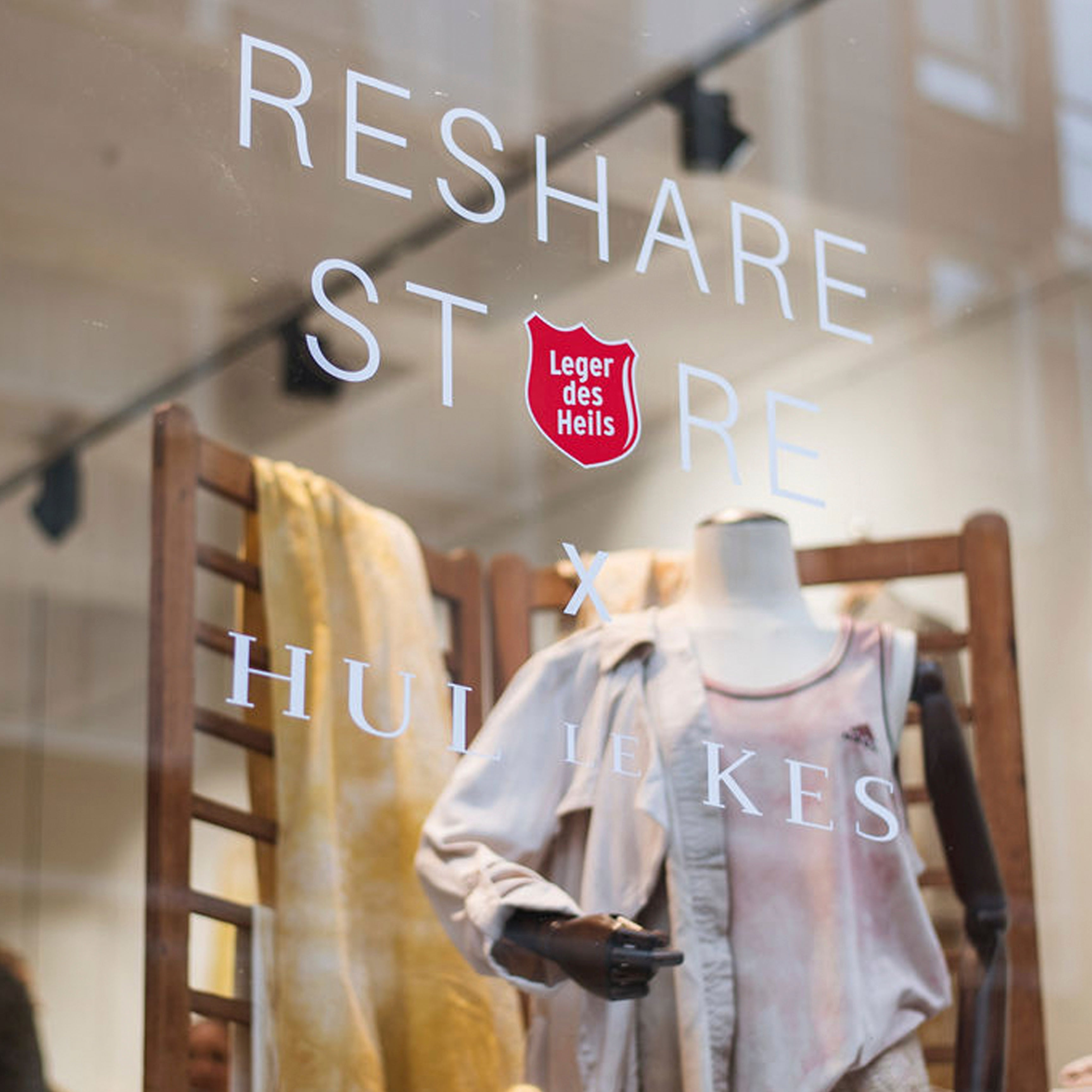 ReShare x Hul le Kes pop-up store opening