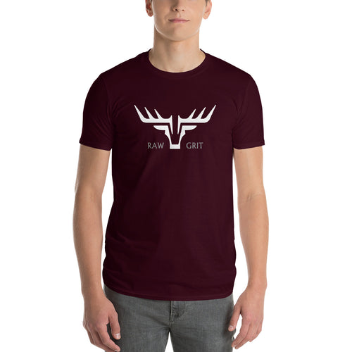 NEW GRIT MENS T-SHIRT MAROON