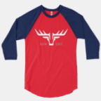 RAGLAN RED/NAVY UNISEX