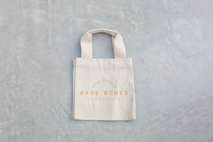 Bare Bones Tiny Tote Bag
