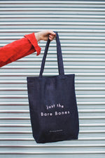 Load image into Gallery viewer, Just the Bare Bones Shopper Bag Denim